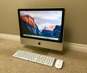 Apple iMac with MICROSOFT OFFICE