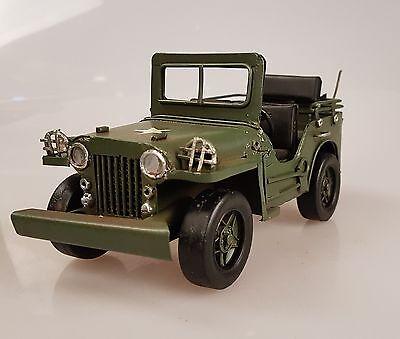 Model Blechspielzeug Wyllis Jeep Militär Blechauto MILITARY