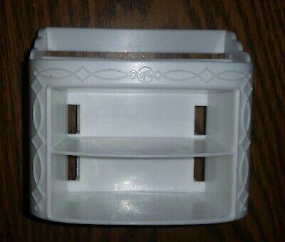 2015 Barbie Dream House Bedroom Shoe Cabinet/Dresser White Replacement Parts EUC