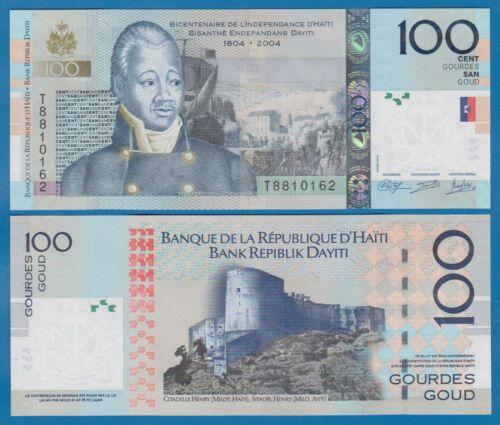 Haiti 100 Gourdes 2014 (2004) P 275e UNC Low Shipping! Combine FREE! P 275 e