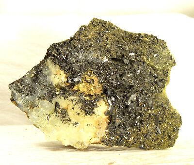 #4474 Babingtonite & Prehnite - Qiaojia, Yunnan, China, used for sale  Mesa