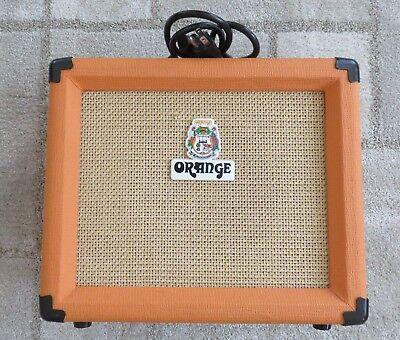 orange vanquish 15r amp combo