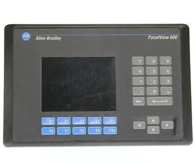 Allen Bradley 2711-k6c1 B Panelview 600 Fw 4.00