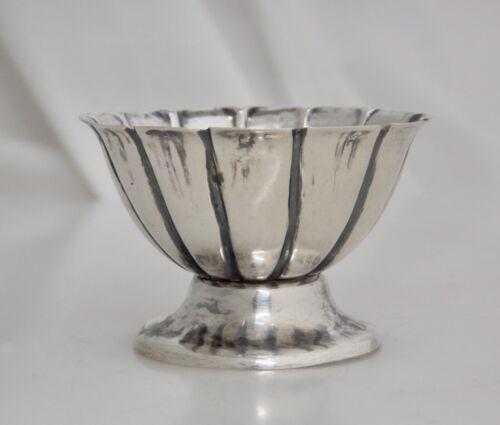 Vintage 900 Sterling Silver Open Salt Cellar -  83491