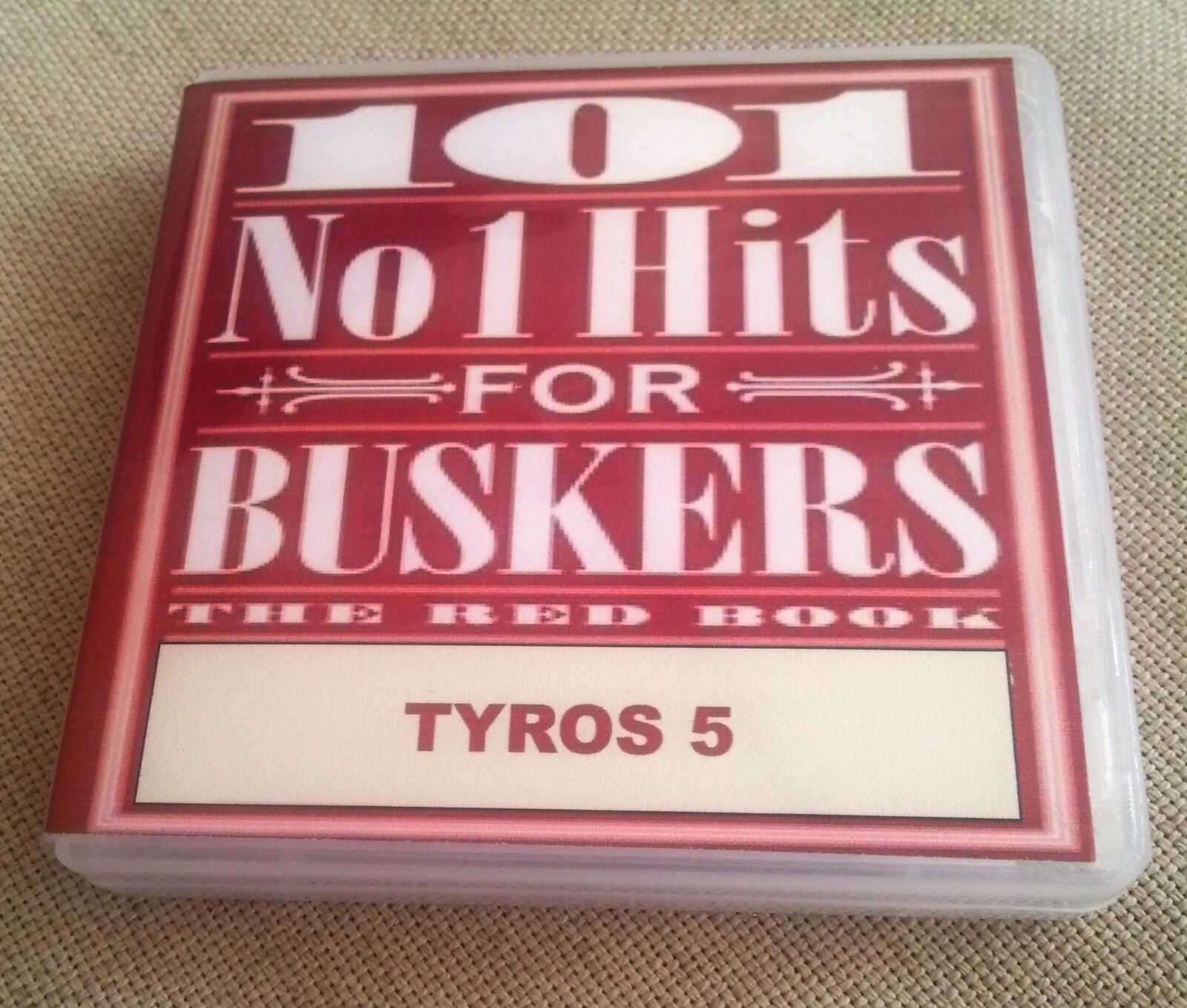 CVP /& PSR-S 101 NUMBER 1 HITS FOR BUSKERS USB AND BOOK SET Yamaha Tyros