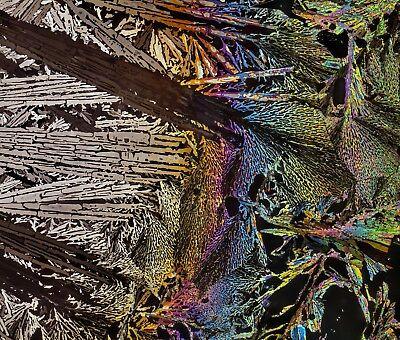 Microscope Slide For Polarized Light Oxalic Acid