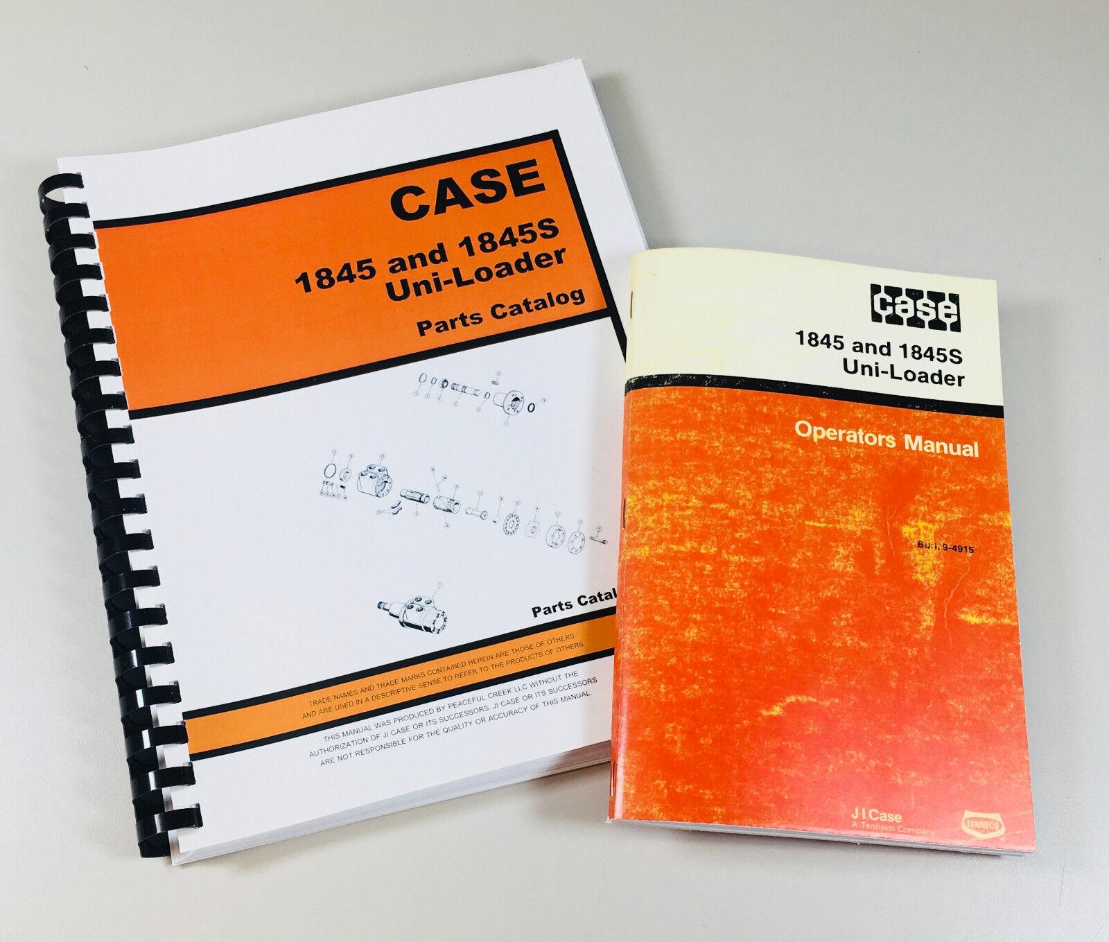 Complete Parts and Operators Manuals