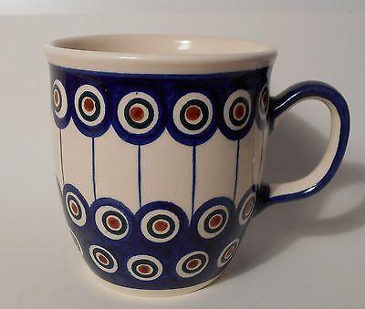 HIT Grosse Kaffee / Tee Tasse aus Bunzlauer Keramik; 350ml (*4027)