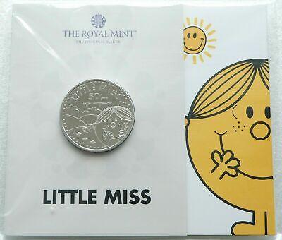 2021 Royal Mint Mr Men Little Miss Sunshine £5 Five Pound Coin Pack Sealed