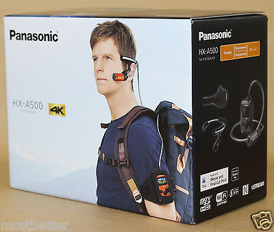 Panasonic HX-A500 Wearable 4K POV Camcorder Orange from Japan