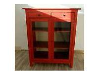 IKEA Hemnes Kitchen cabinet in red