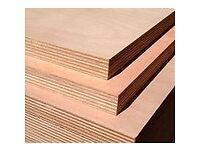 Plywood 18 MM. with hardwood