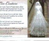 Cleaning Pre Loved, Preowned, Used Gowns