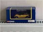 Corgi Mini Cooper Yellow