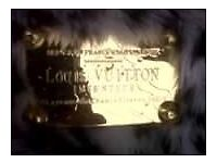 genuine louis vuitton lepord fur hang bag need gone today if possible