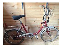 good VGC rideaway fully working foldable 3 gaers specialized Marin, Giant, electric bike, aluminum.