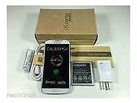 Samsung Galaxy S4 Brand new white colour 16gb unlocked! !!