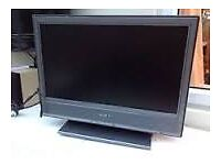 """SONY 20 """"FREEVIEW TV WITH HDMI PC SCART IDEAL BEDROOM KITCHEN OFFICE ETC"""