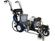 Gas powered Lemmer airless line sprayer. Great condition