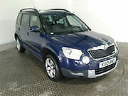 13 SKODA YETI TDI II ELEGANCE GREENLINE 5 DOOR DIESEL £30 ROAD TAX *LEATHER*