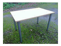 Dinning / Office Table with Adjustable Legs