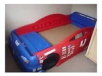Car bed racing car