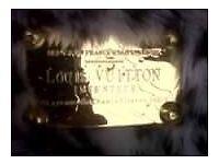 Louis Vuitton lepord fur print hang bag need gone asap