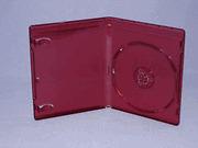 100 NEW 12MM TOP QUALITY BURGUNDY RED HD DVD CASE, NO LOGO BL9