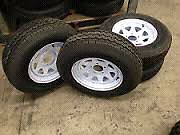 4 X BRAND NEW TYRES ON SUNRAYSIA RIMS $200 Howrah Clarence Area Preview