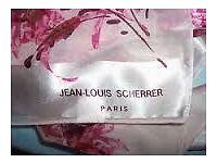 Jean-Louis Scherrer (Paris) Ladies Scarf - Pink Flowers - BRAND NEW - CHRISTMAS IDEA