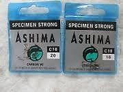 Ashima C10 fishing hooks.