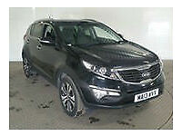 13 KIA SPORTAGE 1.7CRDi 3//PAN ROOF//LEATHER//CLIMATE/CRUISE//