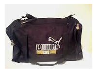 RARE 90'S PUMA KING HOLDALL DOUBLE ZIP **PRICE LOWERED NEED QUICK SALE!**
