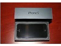 IPHONE 5 32 GB BLACK IMACULATE CONDITON COMES WTH BOX CHARGER EXTRA