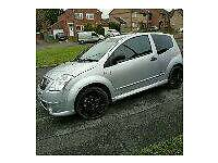 Citreon C2 VTR automatic semi ministry of sound edition