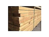 Timber wood 6x2 4x2 c16 4.8m treated/joist/decking/fencing/shed/building/materials/construction/cls/