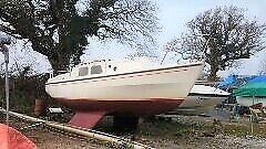 westerly ceantuar 26 ft bilge keel 6 berth sailing boat