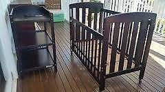 Cot and change table Oxenford Gold Coast North Preview