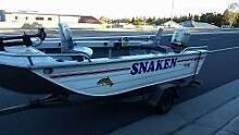 4.3 mtr Brooker Tracker Boat Flinders Shellharbour Area Preview