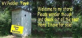 WV Peddler's Toy Store