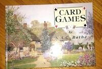 Card Games book for sale
