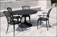Scrap patio furniture and equipment