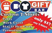 Giftbar.com.au - design and printing T-Shirts Liberty Grove Canada Bay Area Preview