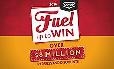 """Share of Winning for Co-op """"Fuel up to Win Contest"""""""