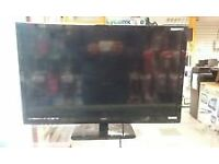 """19"""" HAIER LED DVD FREEVIEW USB TV WITH REMOTE GREAT WORKING ORDER CAN DELIVER BARGAIN"""