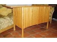 WANTED ERCOL SAVILLE 2 OR 3 DOOR SIDEBOARD.LIGHT FINISH