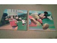 Mickey Mouse Wall Art Canvas
