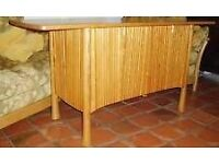 WANTED ERCOL SAVILLE SIDEBOARD TWO OR 3 DOOR IN THE LIGHT FINISH