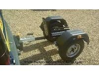 Trailer for a three wheeler motorbike ,the sor with one front wheel, in exc con £200