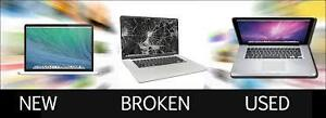 WE BUY YOUR BROKEN MACS AND PCS FOR CASH RIGHT NOW 514-600-5253